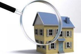 magnifying glass, house