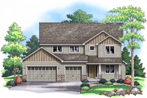New Construction 2-Story at 19870 Deerbrooke Path, Farmington MN