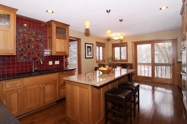 Beautiful Communicator Kitchen in Apple Valley Home for Sale