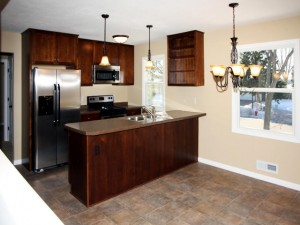 After Picture of Kitchen Remodel