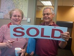 Happy Sellers of Lakeville Home listened to Showings Feedback