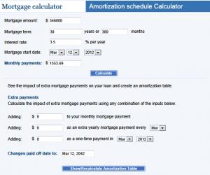 multiple offer mortgage calculator