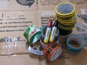 tips for packing gather supplies