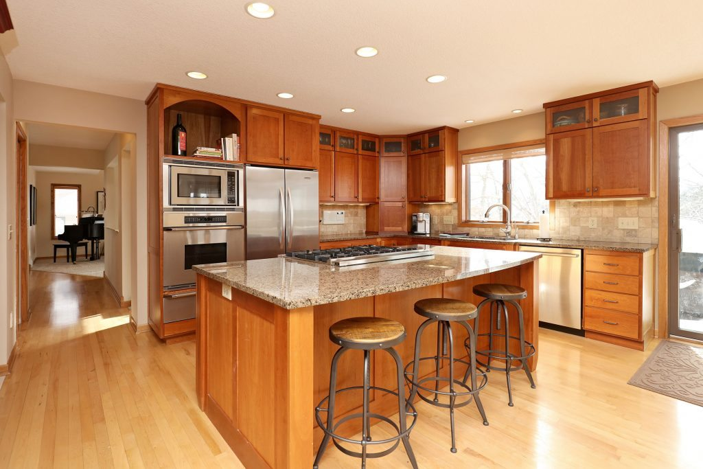 Kitchen Apple Valley Updated Two Story