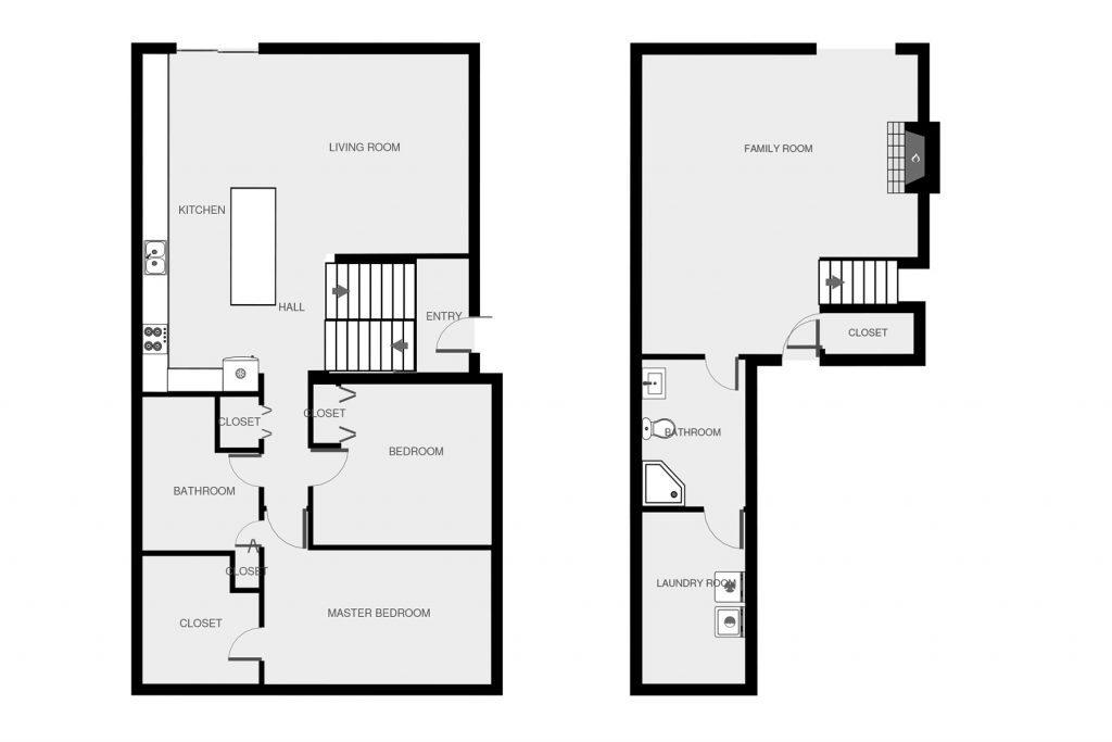 Burnsville Townhome Floor Plan