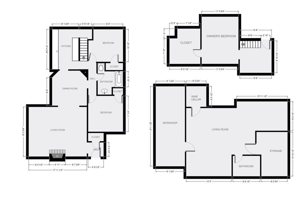 Minneapolis Tudor Floorplan