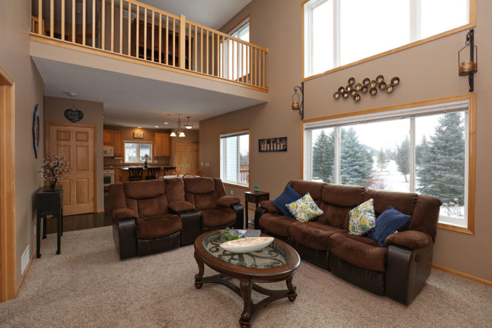 Spacious Lakeville Family Room