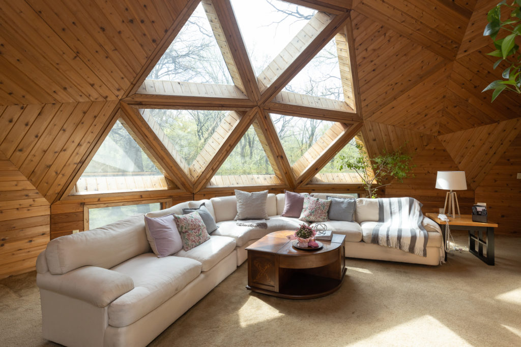 Dome Home with Amazing Architecture for sale by Realtor